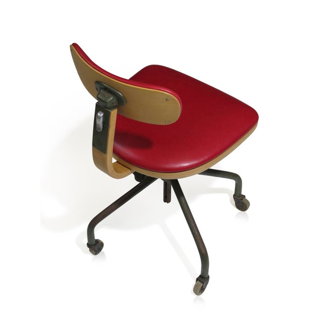 1931 Jorgen Rasmussen for Fritz Hansen Office Chair - Image 8 of 9