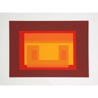 "Josef Albers ""Portfolio 1, Folder 11, Image 2 "" Print"