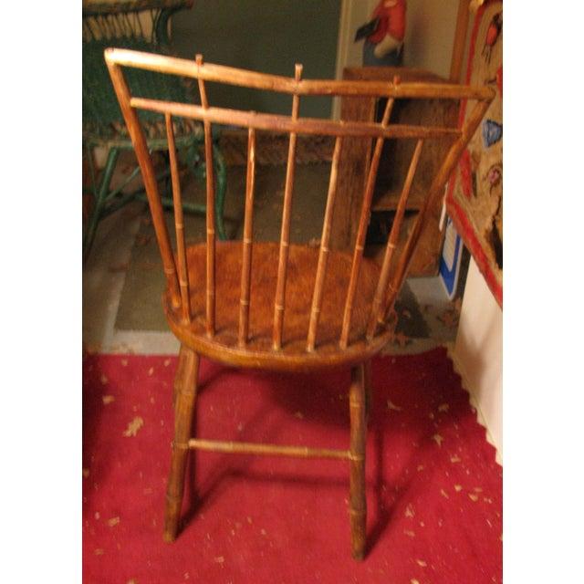 Antique Signed Samuel Gragg Windsor Chair - Image 3 of 11