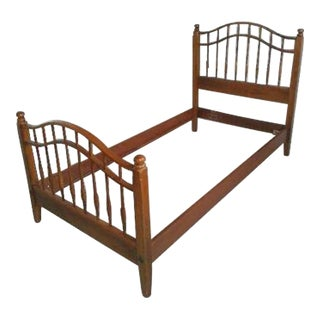 Ethan Allen Twin Bed Frame