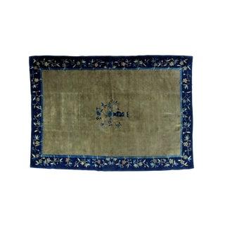 """Leon Banilivi Antique Chinese Carpet - 6'1"""" X 8'8"""""""