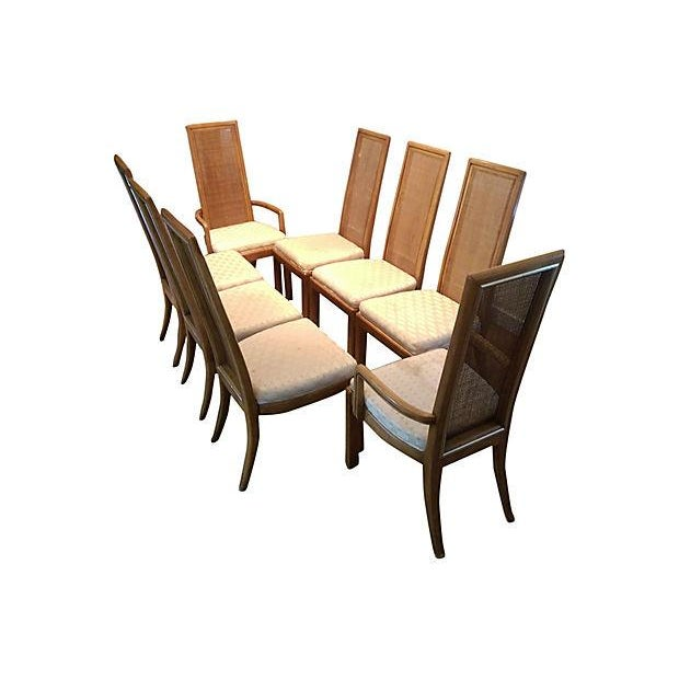 American of Martinsville Dining Chairs - Set of 8 - Image 5 of 7