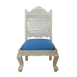 Silver Low Royal Chair