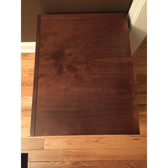 Lane Campaign Style Side Table/Night Table - Image 7 of 8