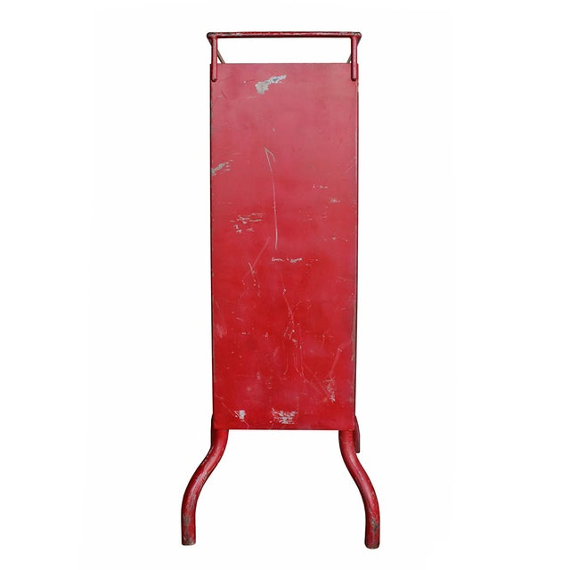 Antique Red Dental Cabinet - Image 5 of 5