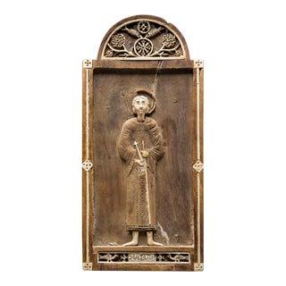 Coptic Votive Lmage of Saint Peter