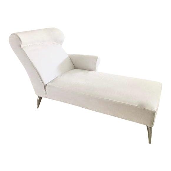 Driade royalton white chaise longue by philippe starck 1988 chairish - Chaise philippe starck ...