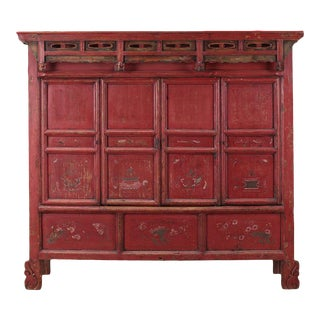 Sarreid LTD C. 100 Chinese Pine Cabinet