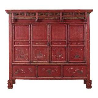 Sarreid LTD C. 100 Chinese Pine Cabinet