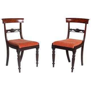 Faux Bois Regency Chairs - A Pair