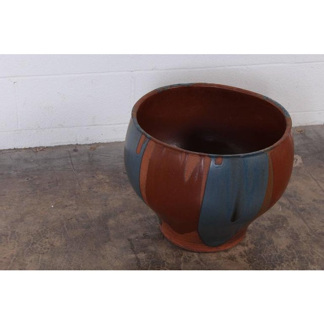 David Cressey Flame Glazed Planter for Architectural Pottery - Image 5 of 10