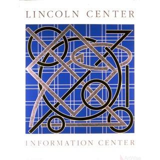 Valerie Jaudon, Lincoln Center Information Center, 1986 Serigraph