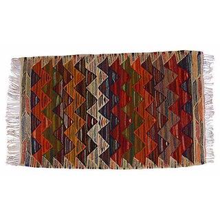 Moroccan Berber Kilim - 3'8'' x 2'2''