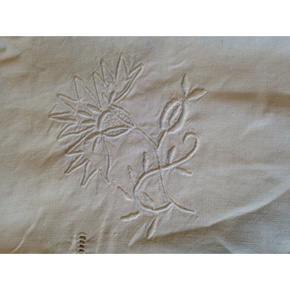 1920's French Bed Linen - Image 5 of 6