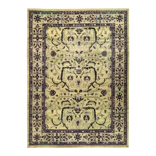 "Eclectic Collection Hand Knotted Area Rug - 10' 2"" X 13' 9"""