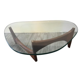 Adrian Pearsall Mid Century Modern Sculptural Walnut Coffee Table