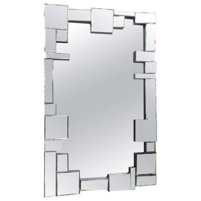 Neil Small Style Multi Faceted Mirror - Image 1 of 4