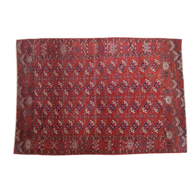 "Antique Tekke Bokhara Carpet - 6'11"" X 10' - Image 1 of 10"
