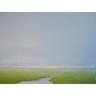 """""""Wetland"""" Original Oil Painting by C Kenworthy"""