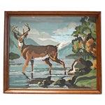 Image of Vintage Paint by Numbers - Deer