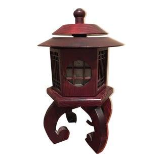 Vintage Chinese Rosewood Lantern