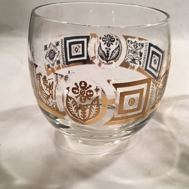 Vintage Culver Roly Poly Glasses - Set of 5 - Image 9 of 9