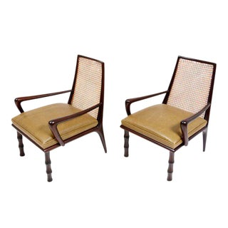 Mexican Modernist Lounge Chairs Attributed to Eugenio Escudero