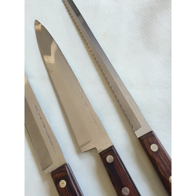 Vintage Carving/Bread Knives - Set of 3 - Image 4 of 5