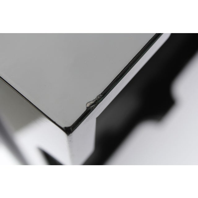 """Oomph """"Edgartown"""" Square Black Lacquer Tray - Image 5 of 8"""