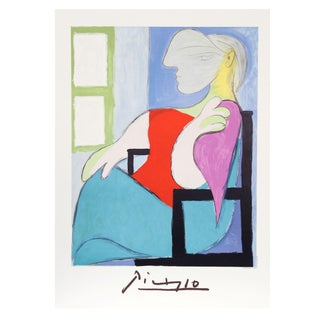 """Pablo Picasso """"Femme Assise Pres d'Une Fenetre"""" Lithograph"""