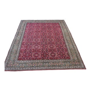 "Turkish Anatolian Handmade Area Rug - 6'7"" X 9'3"""