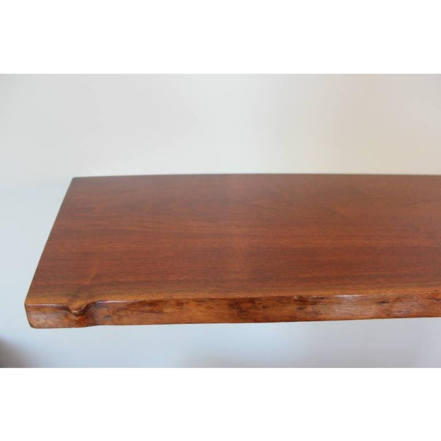 Image of George Nakashima Slab Wall Shelf