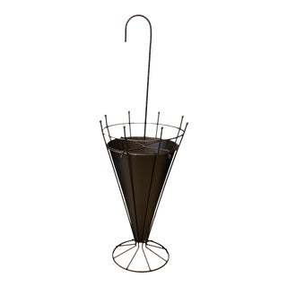 French Metal Umbrella Stand