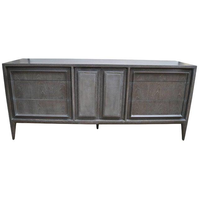 Century Furniture of Distinction Gray Finish Credenza - Image 1 of 7