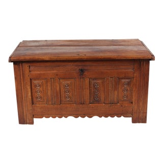 Early 19th-Century English Dowery Chest