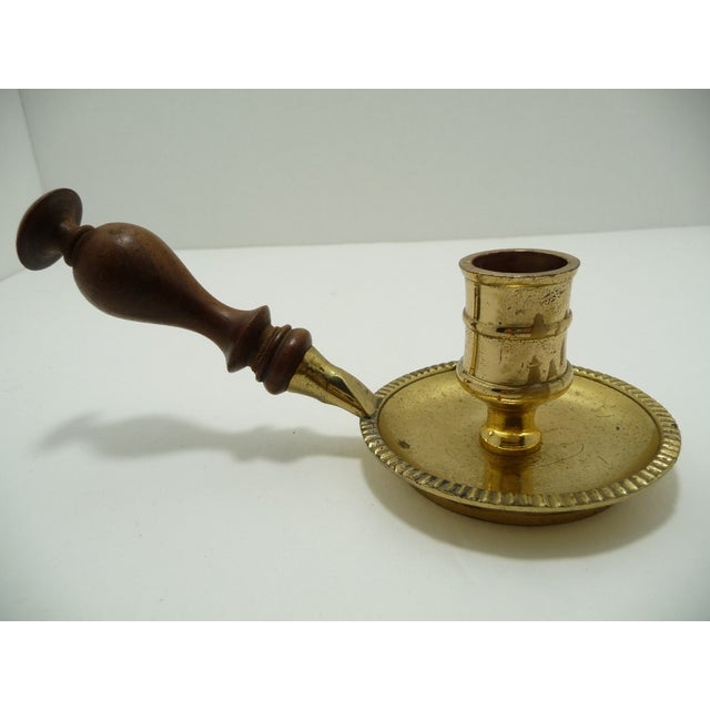 Vintage Brass Chamberstick - Image 3 of 6