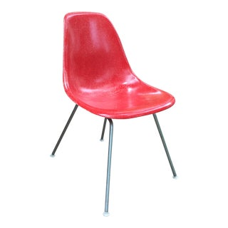 Eames for Herman Miller Red Side Chair