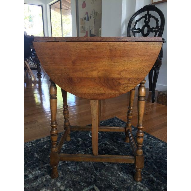 Mary & William Gateleg Side Table - Image 2 of 7