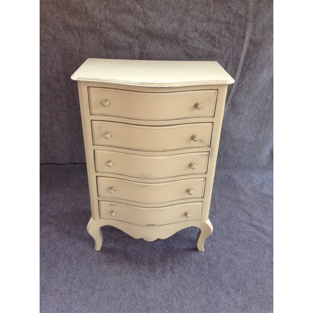 Distressed Shabby Chic 5-Drawer Chest - Image 6 of 7