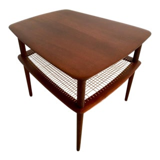 Danish Modern Peter Hvidt Minerva Teak Side Table