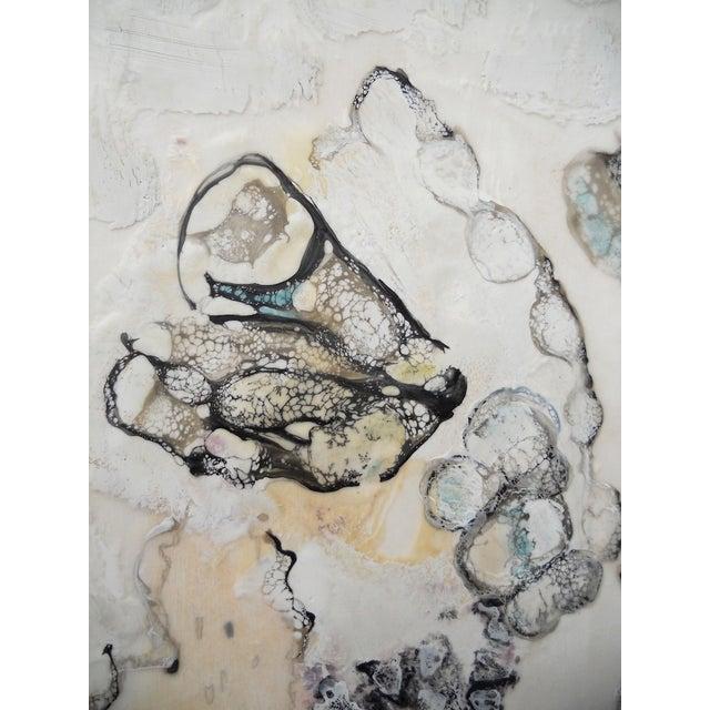 Chrysalis Dawn Modern Encaustic Painting - Image 4 of 6