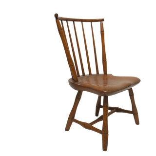 Child's Size American Pumpkin Pine Windsor Chair