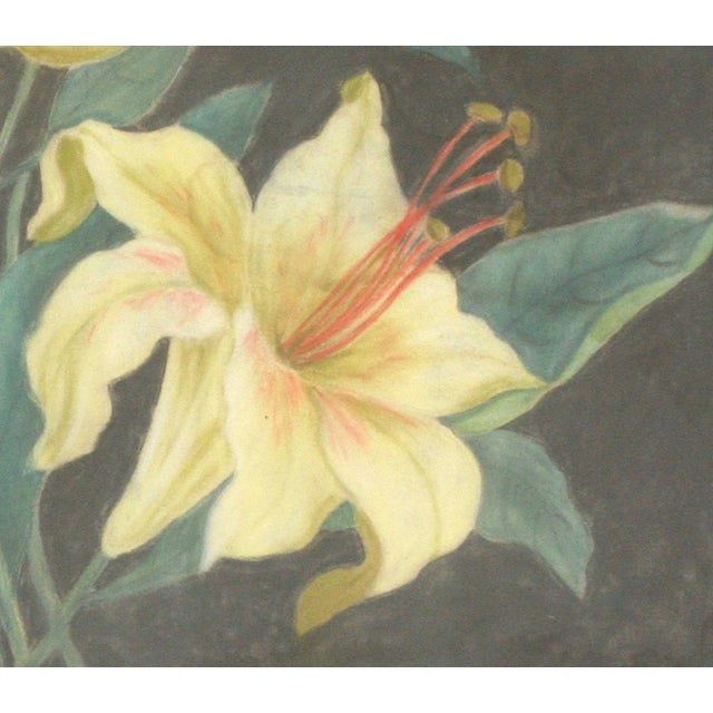 Original Floral Still Life Watercolor Painting - Image 3 of 5