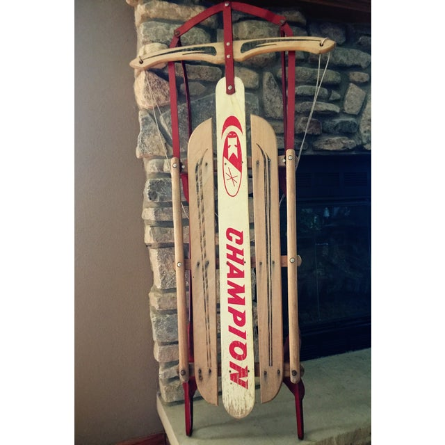 Image of Champion Kalamazoo Sled Co Vintage Retro Sled