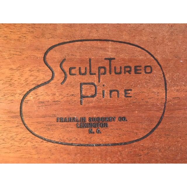 Image of Franklin Shockey Mid-Century Sculptured Pine Dresser