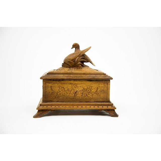 Black Forest Water Bird Jewelry Box - Image 10 of 10