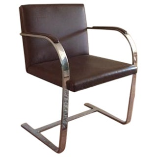 Mies van der Rohe Brno Leather Armchair