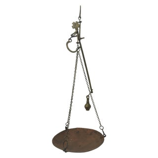 Late 19th Century Brass, Iron, and Copper Scale