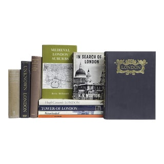 'London Library' Book Collection - Set of 10