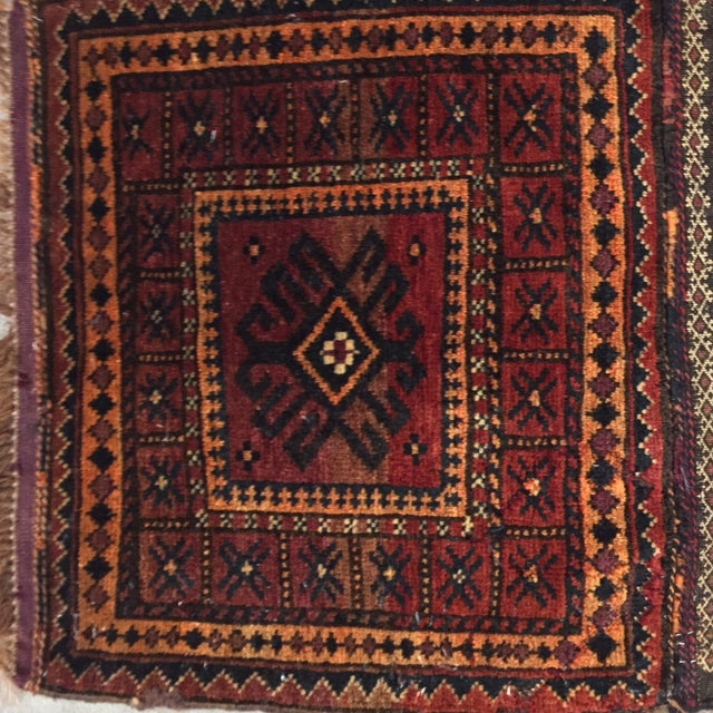 Balluchi Persian Rug - 1′10″ × 1′10″ - Image 3 of 8